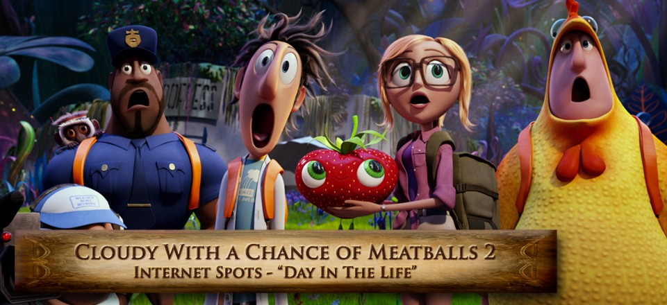 Cloudy with a chance of meatballs 2-Day in The Life