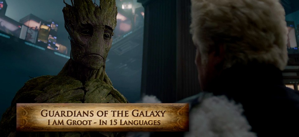 Guardians of The Galaxy-I Am Groot